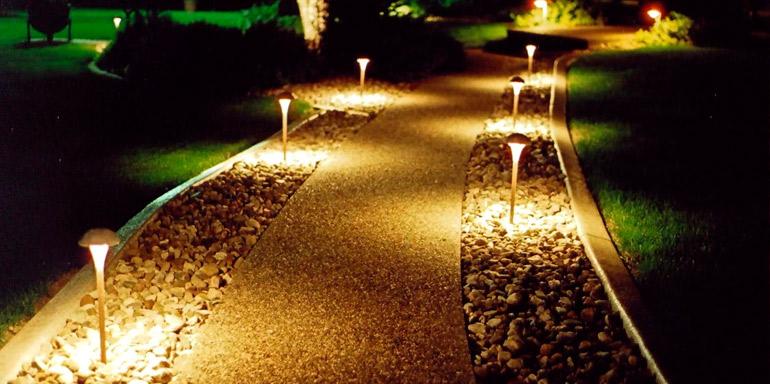 Декоративное освещение на вашем участке