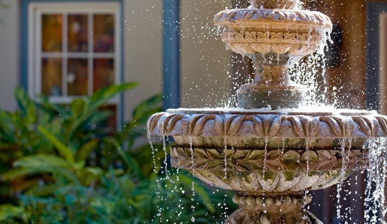 Р-Парк — создадим на вашем участке фонтан.