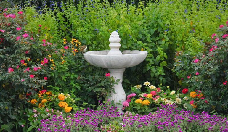 Р-Парк — создадим на вашем участке декоративный фонтан