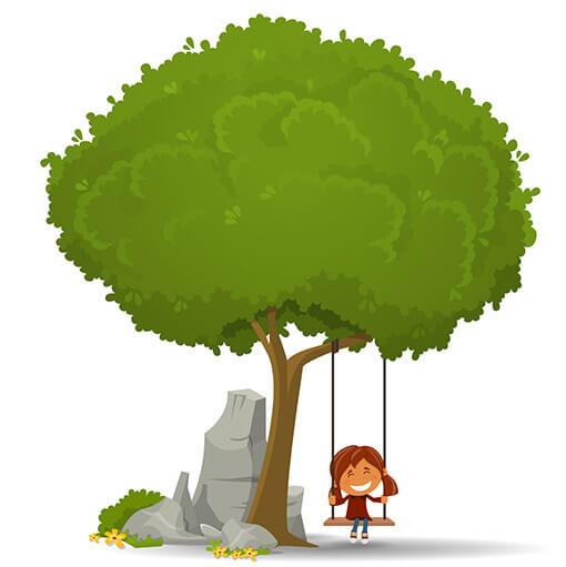 Посадка деревьев крупномеров Р-ПАРК