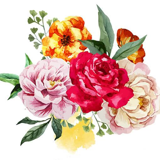 Создание цветников