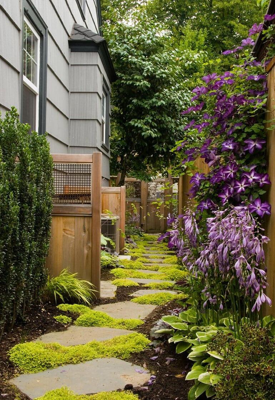 Садовый дизайн дорожки
