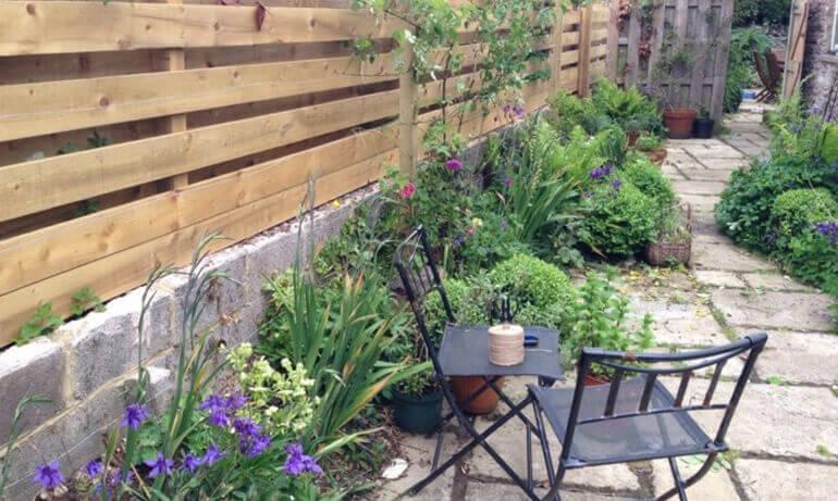 Садовый дизайн и забор