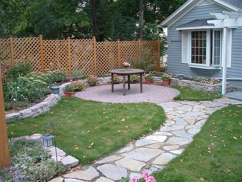 Патио и садовая дорожка