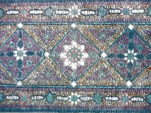 Сборник мозаики как ковровый рисунок