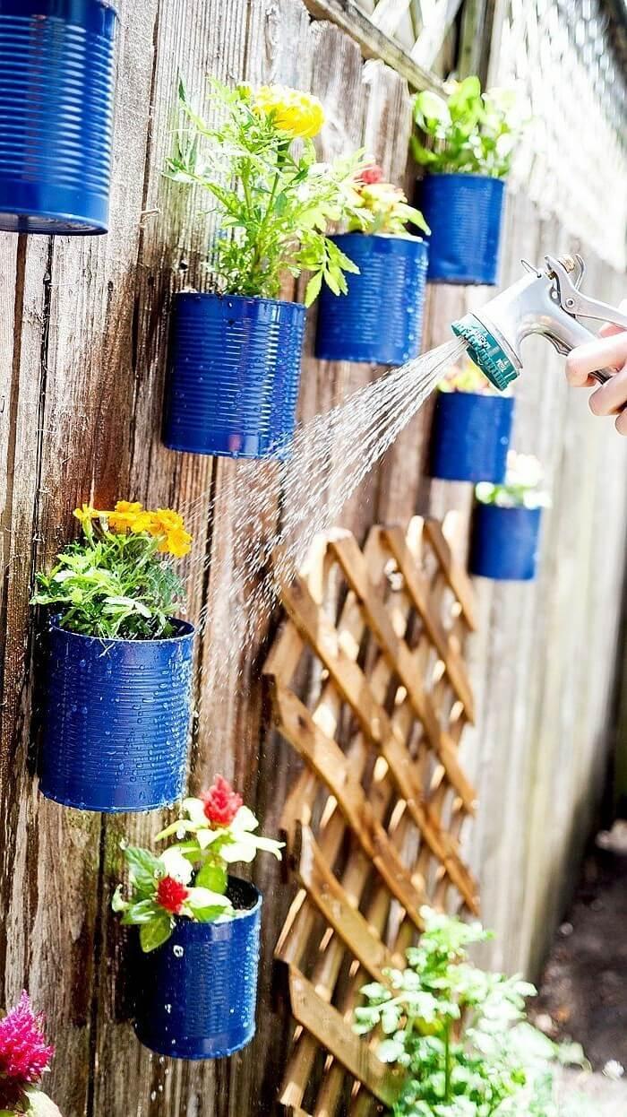 Используйте креативные идеи украшения, чтобы прогнать скуку из вашего сада
