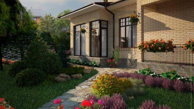 Пример проектирования ландшафтного дизайна в Сестроецке