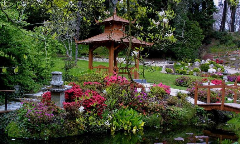 Пример японского сада