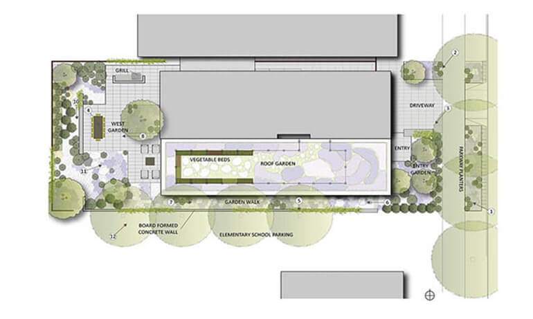 План ландшафтного архитектора