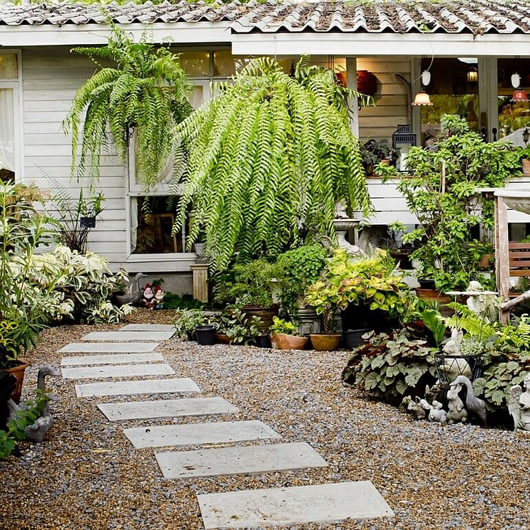 Садовая дорожка шаг за шагом
