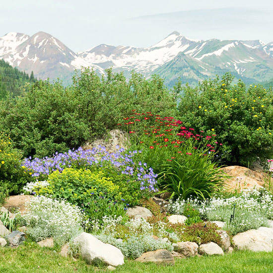 кусочек альпийского пейзажа