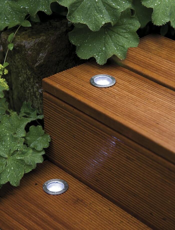 Встроенные светодиодные фонари - это модно и эффективно