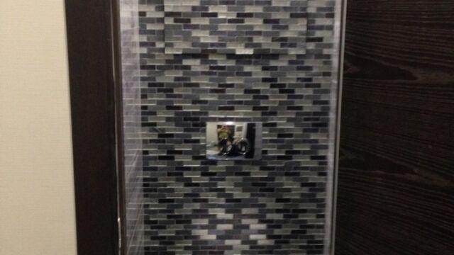 Примеры отделки туалета