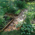 Садовые дорожки – 50 креативных вариантов